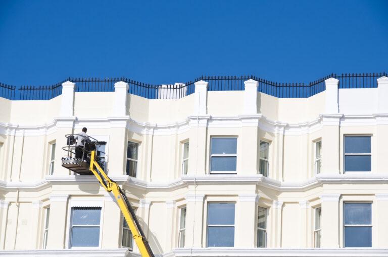 Fassadenreinigung _ Scharif Gebäudedienstleistungen
