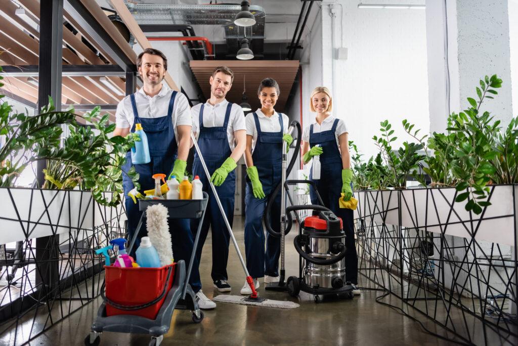 Unterhaltsreinigung in Düsseldorf _ Scharif Gebäudedienstleistungen