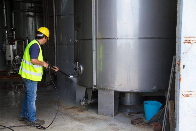 Industriereinigung _ Scharif Gebäudedienstleistungen